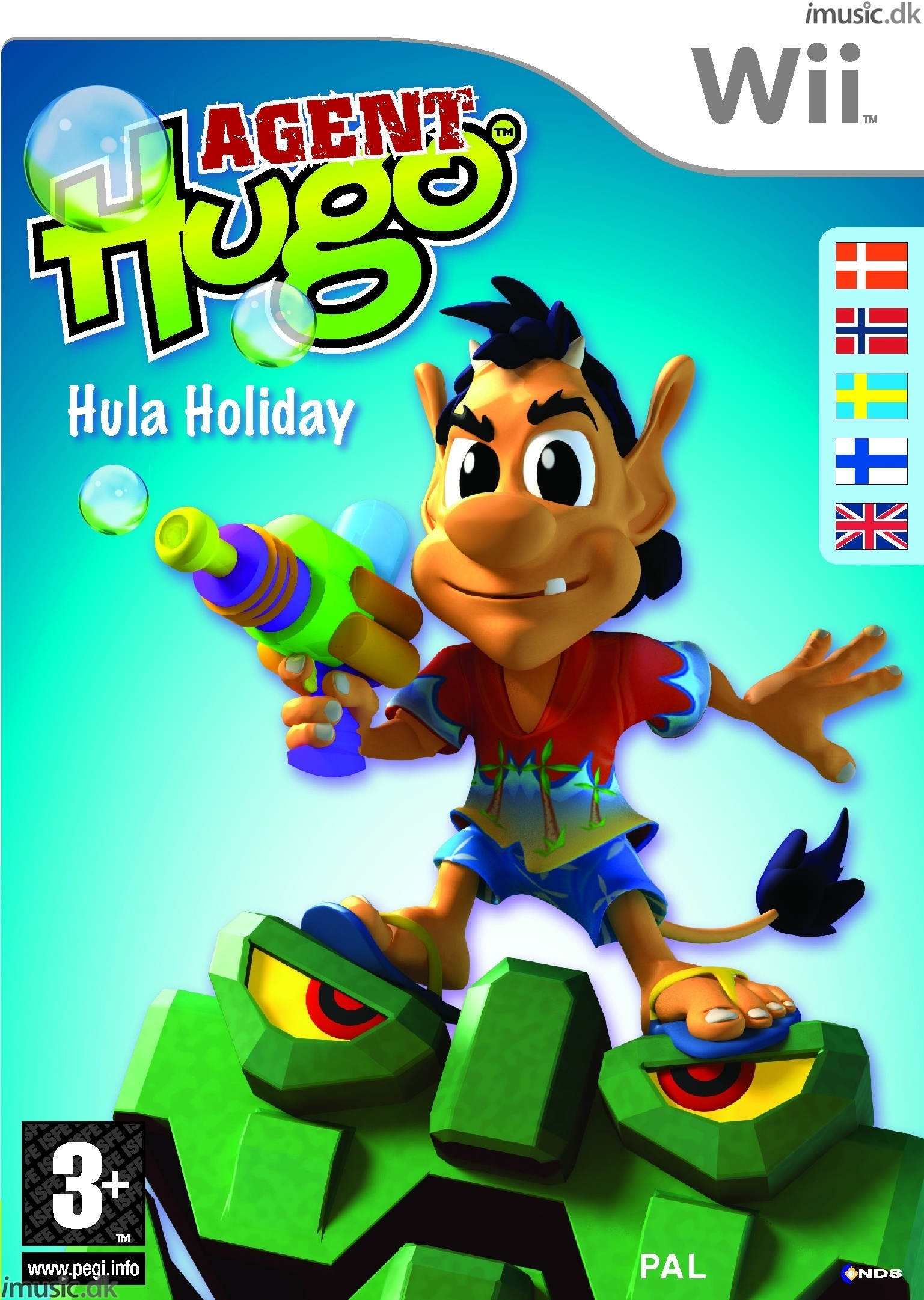 Boxshot Agent Hugo: Hula Holiday