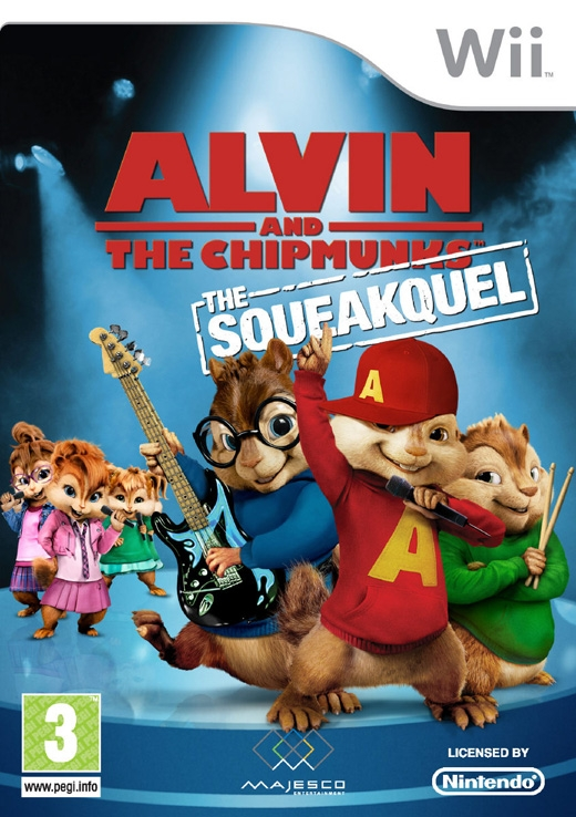 Boxshot Alvin and the Chipmunks: The Squeakquel