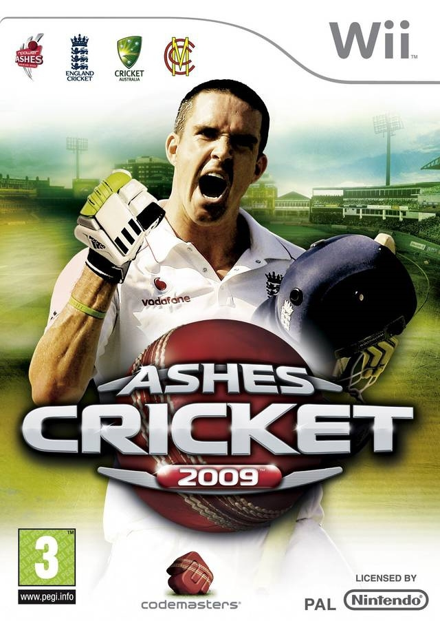 Boxshot Ashes Cricket 2009