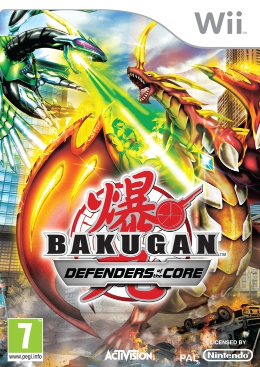 Boxshot Bakugan: Defenders of the Core