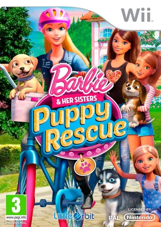 Boxshot Barbie & Her Sisters Puppy Rescue