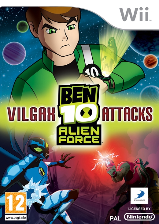 Boxshot Ben 10 Alien Force: Vilgax Attacks