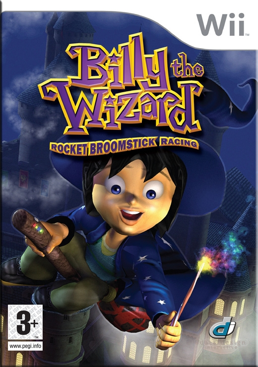 Boxshot Billy the Wizard: Rocket Broomstick Racing