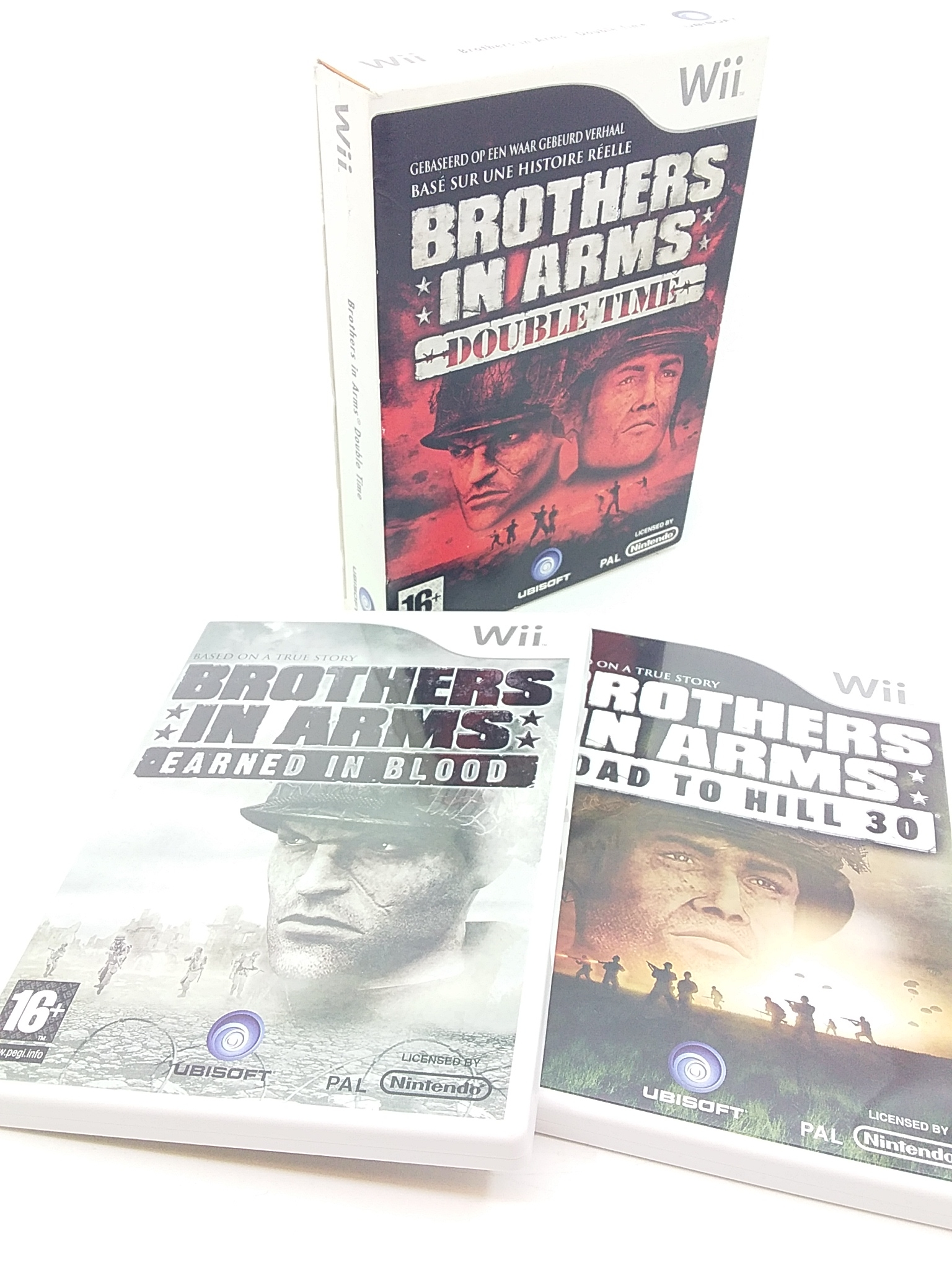 Boxshot Brothers in Arms: Double Time