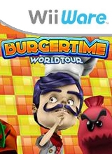 Boxshot BurgerTime World Tour