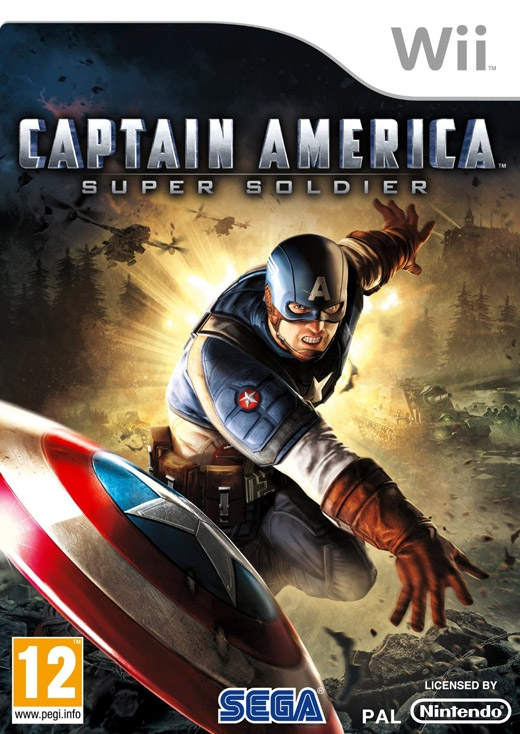 Boxshot Captain America: Super Soldier