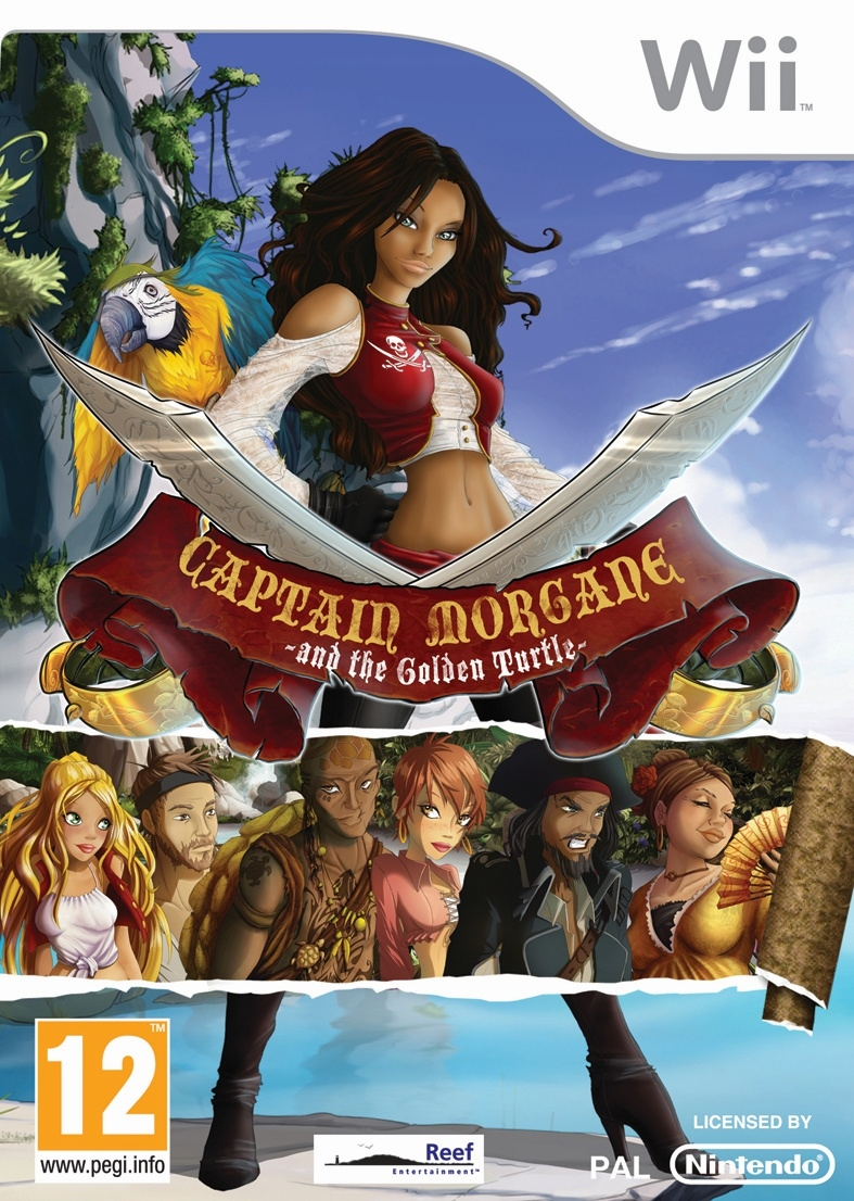 Boxshot Captain Morgane: And the Golden Turtle