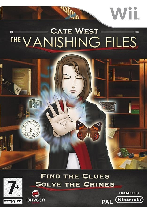 Boxshot Cate West: The Vanishing Files