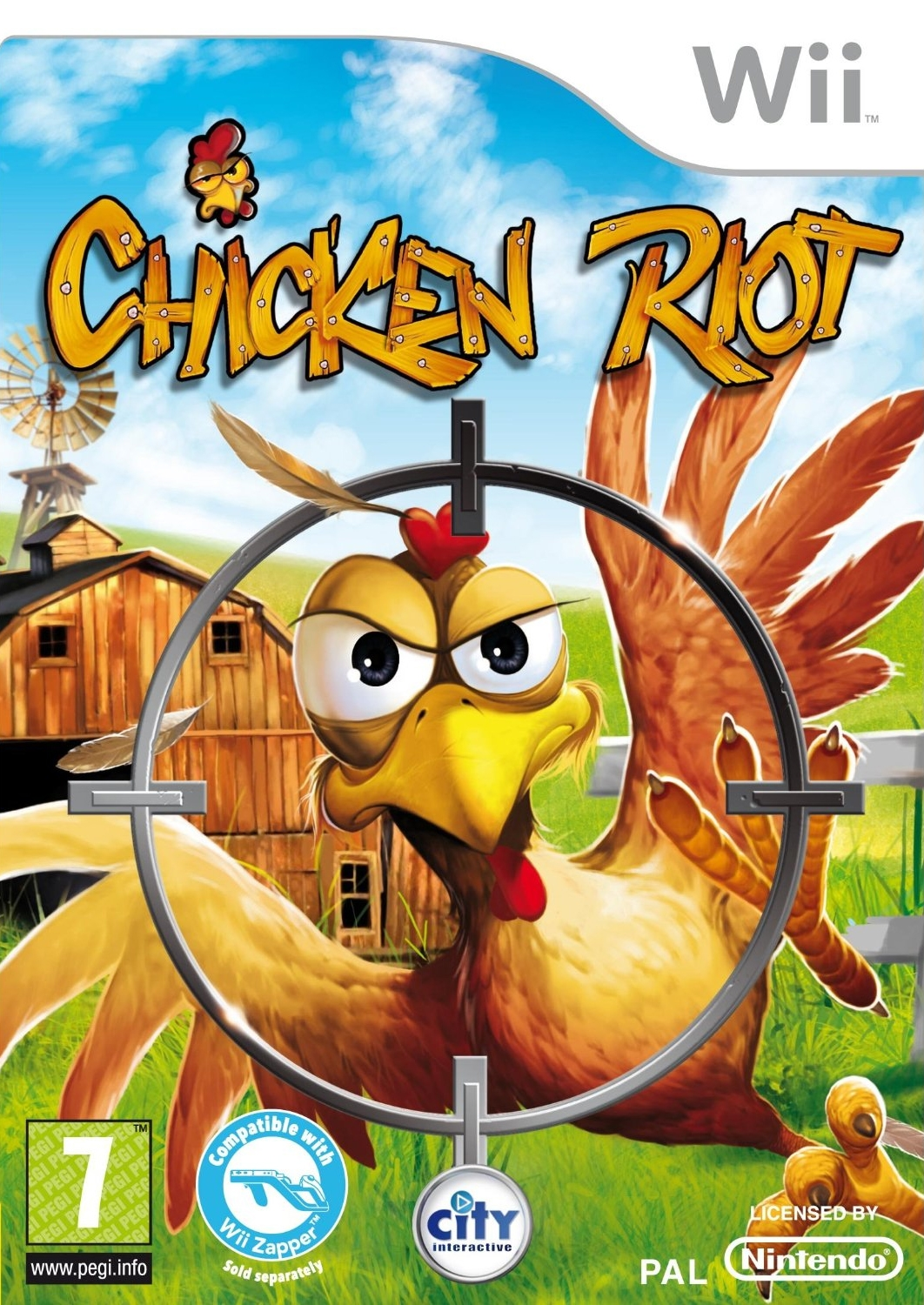 Boxshot Chicken Riot