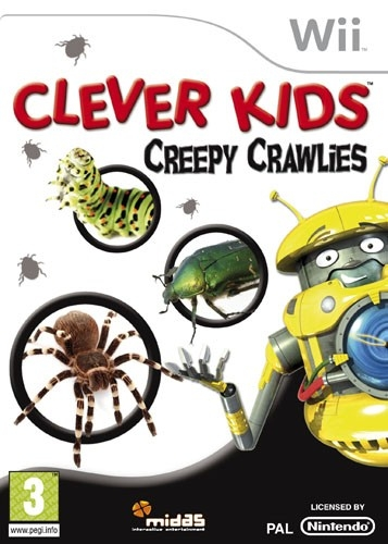 Boxshot Clever Kids: Creepy Crawlies