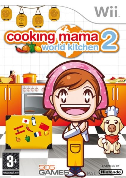 Boxshot Cooking Mama 2: World Kitchen