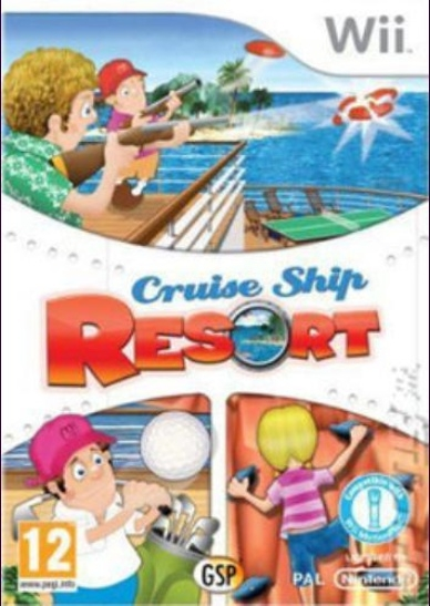 Boxshot Cruise Ship Resort