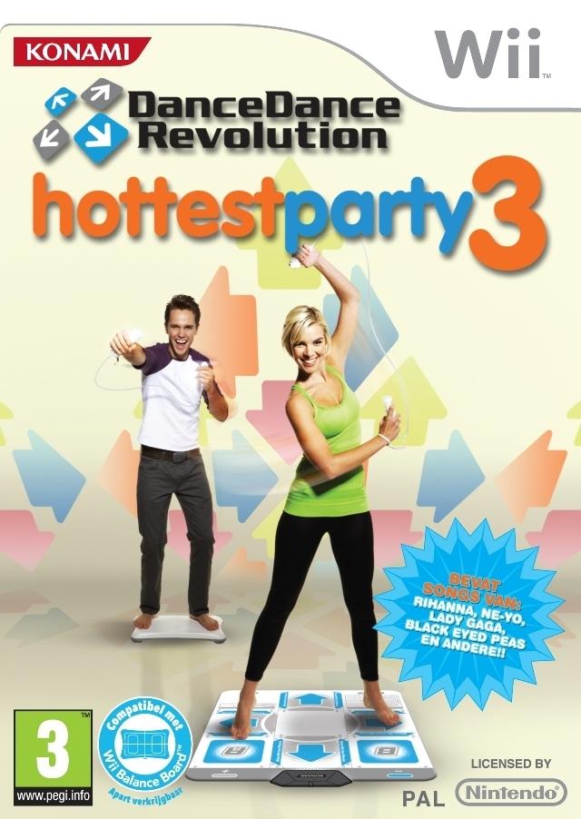 Boxshot Dance Dance Revolution Hottest Party 3