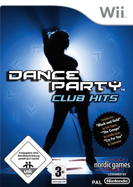 Boxshot Dance Party Club Hits