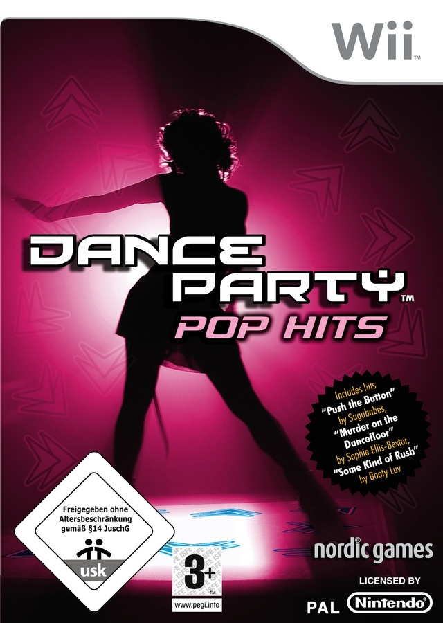 Boxshot Dance Party Pop Hits