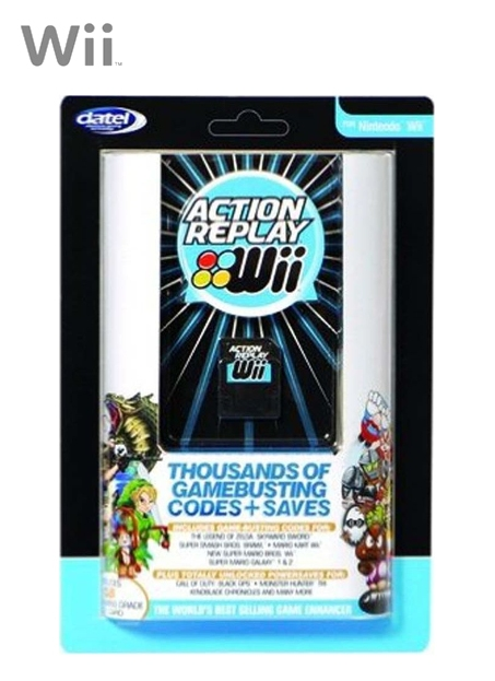 Boxshot Datel Action Replay Wii