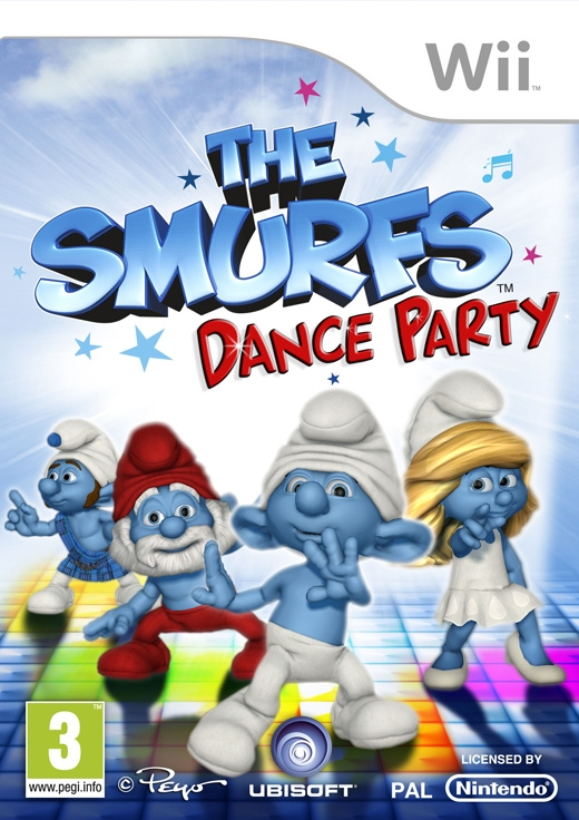 Boxshot De Smurfen: Dance Party