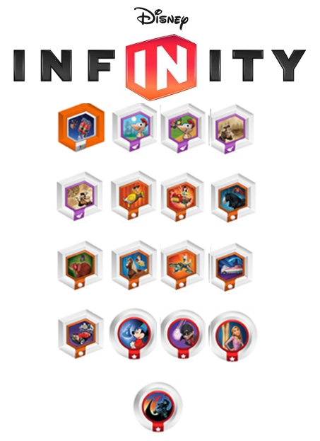 Boxshot Disney Infinity: Power Discs - Series 3