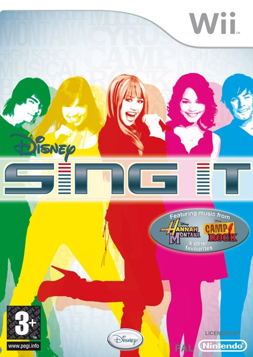 Boxshot Disney Sing It