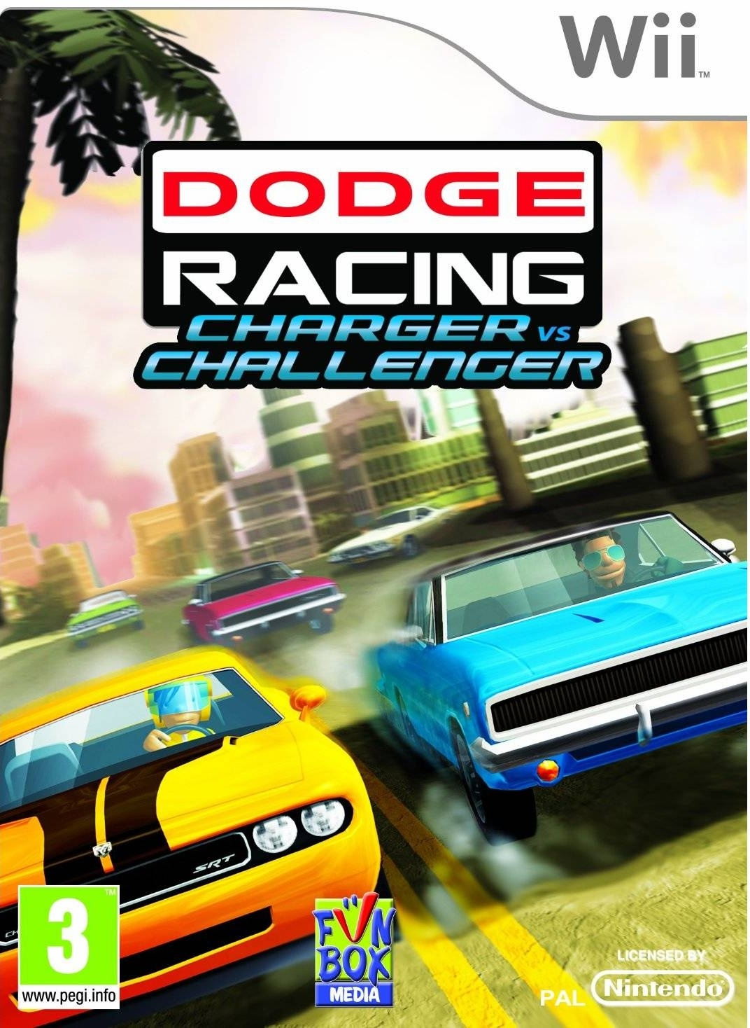 Boxshot Dodge Racing: Charger vs Challenger
