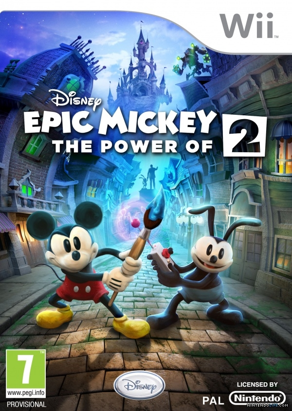 Boxshot Epic Mickey 2: The Power of Two