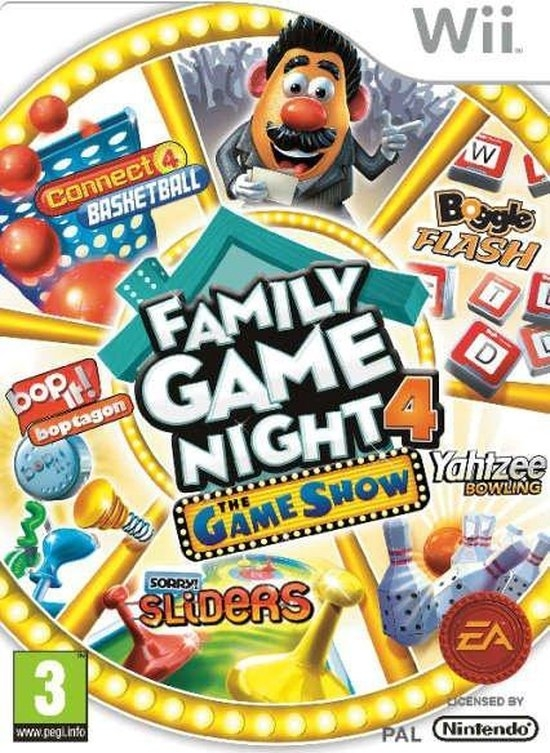 Boxshot Family Game Night 4: The Game Show