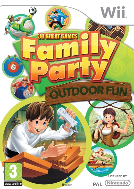 Boxshot Family Party: 30 Great Games Outdoor Fun