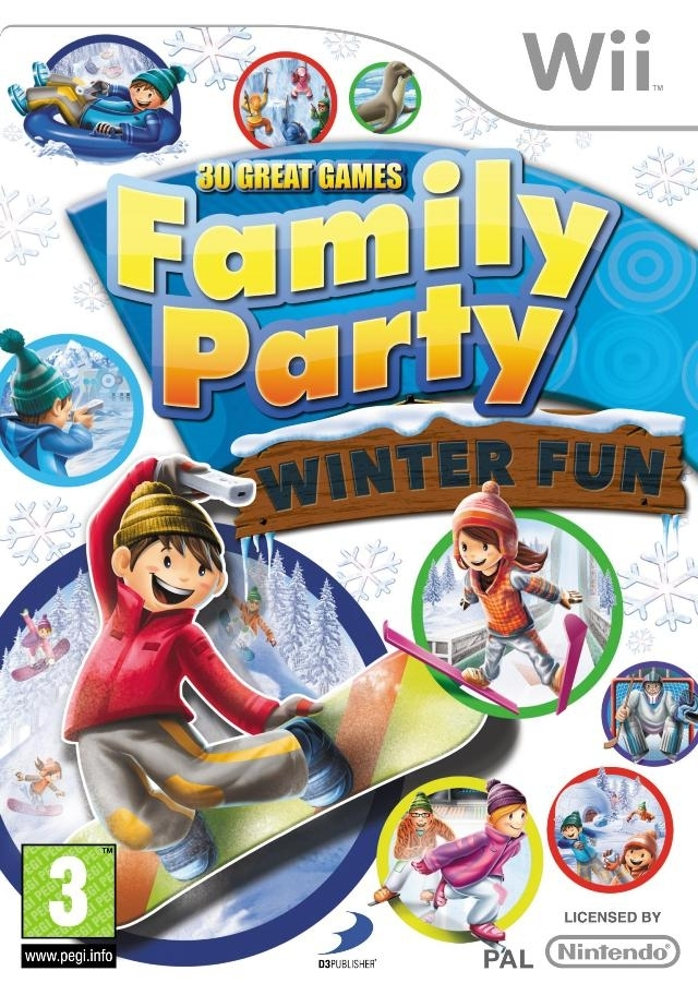 Boxshot Family Party: 30 Great Games Winter Fun