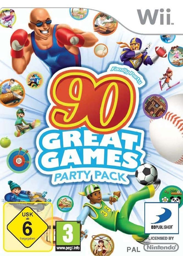 Boxshot Family Party: 90 Great Games Party Pack