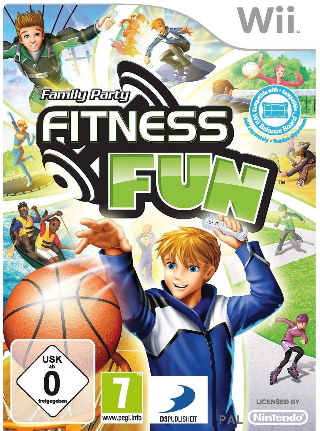 Boxshot Family Party: Fitness Fun