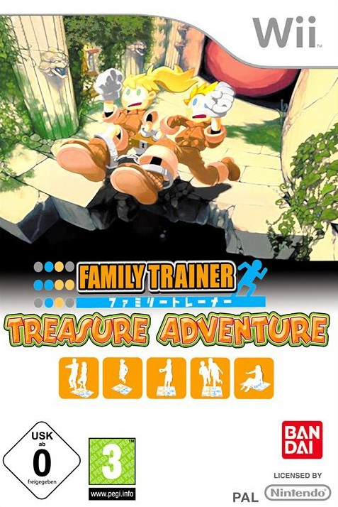 Boxshot Family Trainer: Treasure Adventure