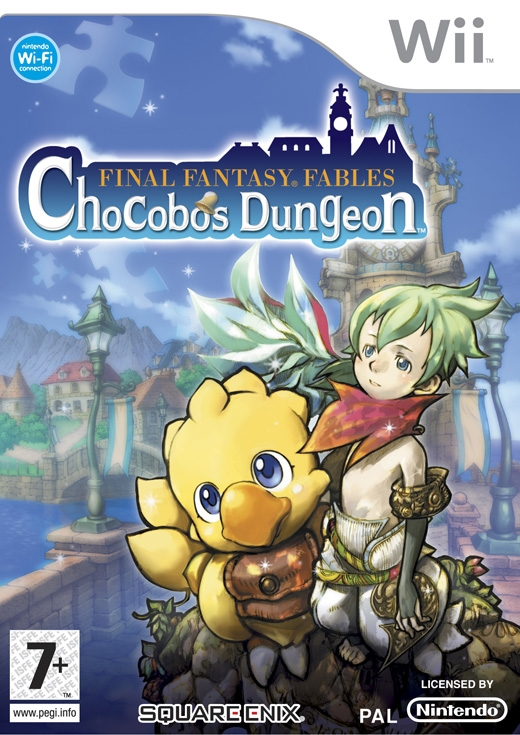 Boxshot Final Fantasy Fables: Chocobo's Dungeon