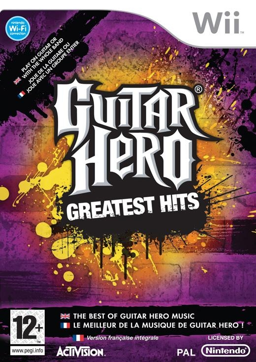 Boxshot Guitar Hero: Greatest Hits