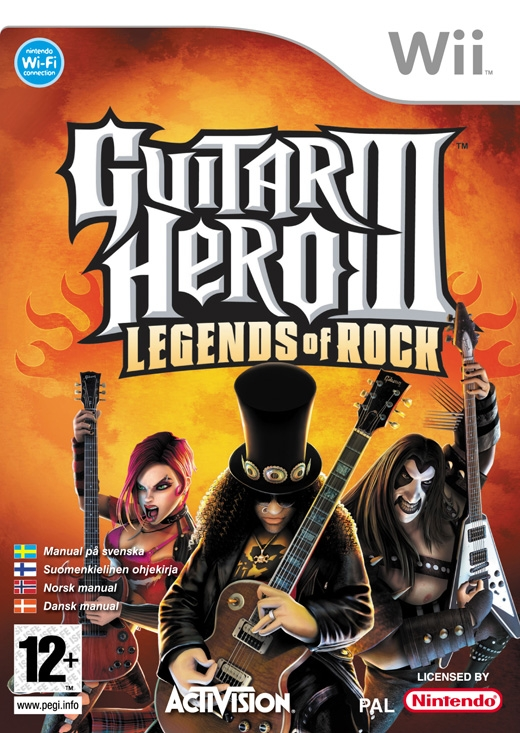Boxshot Guitar Hero III: Legends of Rock