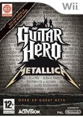 Boxshot Guitar Hero: Metallica