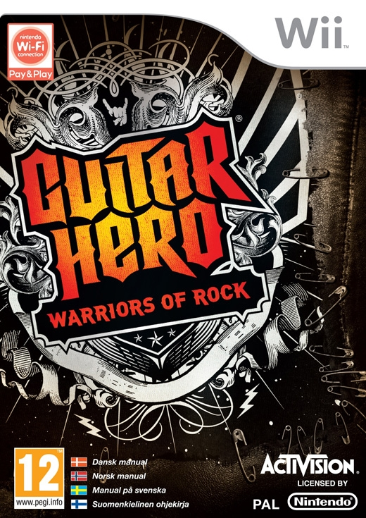 Boxshot Guitar Hero: Warriors of Rock
