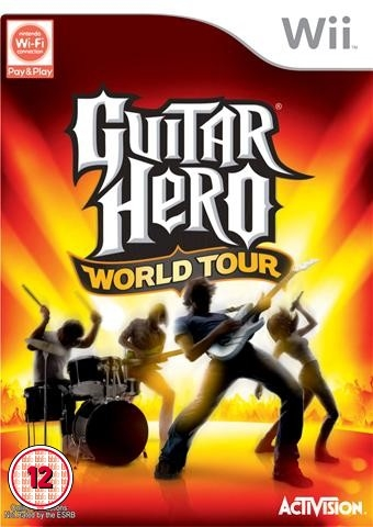 Boxshot Guitar Hero: World Tour
