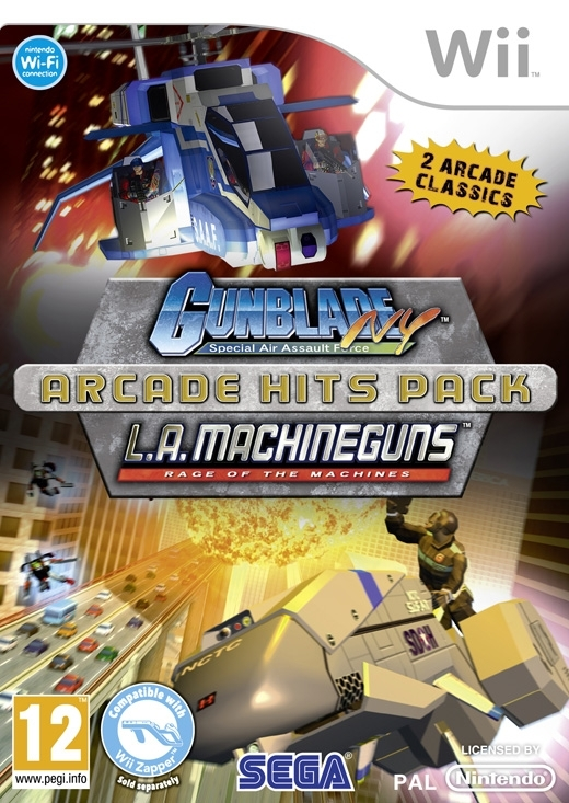 Boxshot Gunblade NY and LA Machineguns Arcade Hits Pack