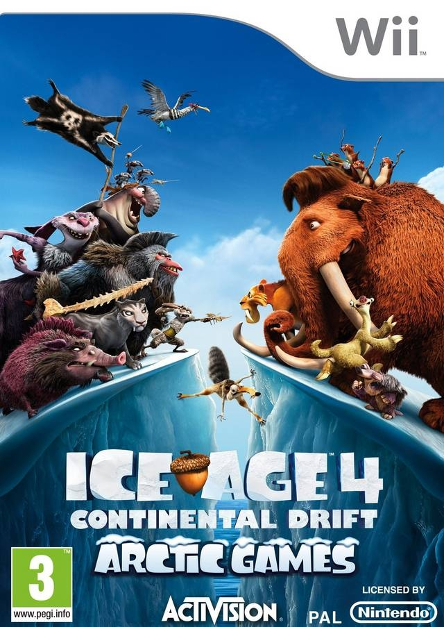 Boxshot Ice Age 4: Continental Drift - Arctic Games