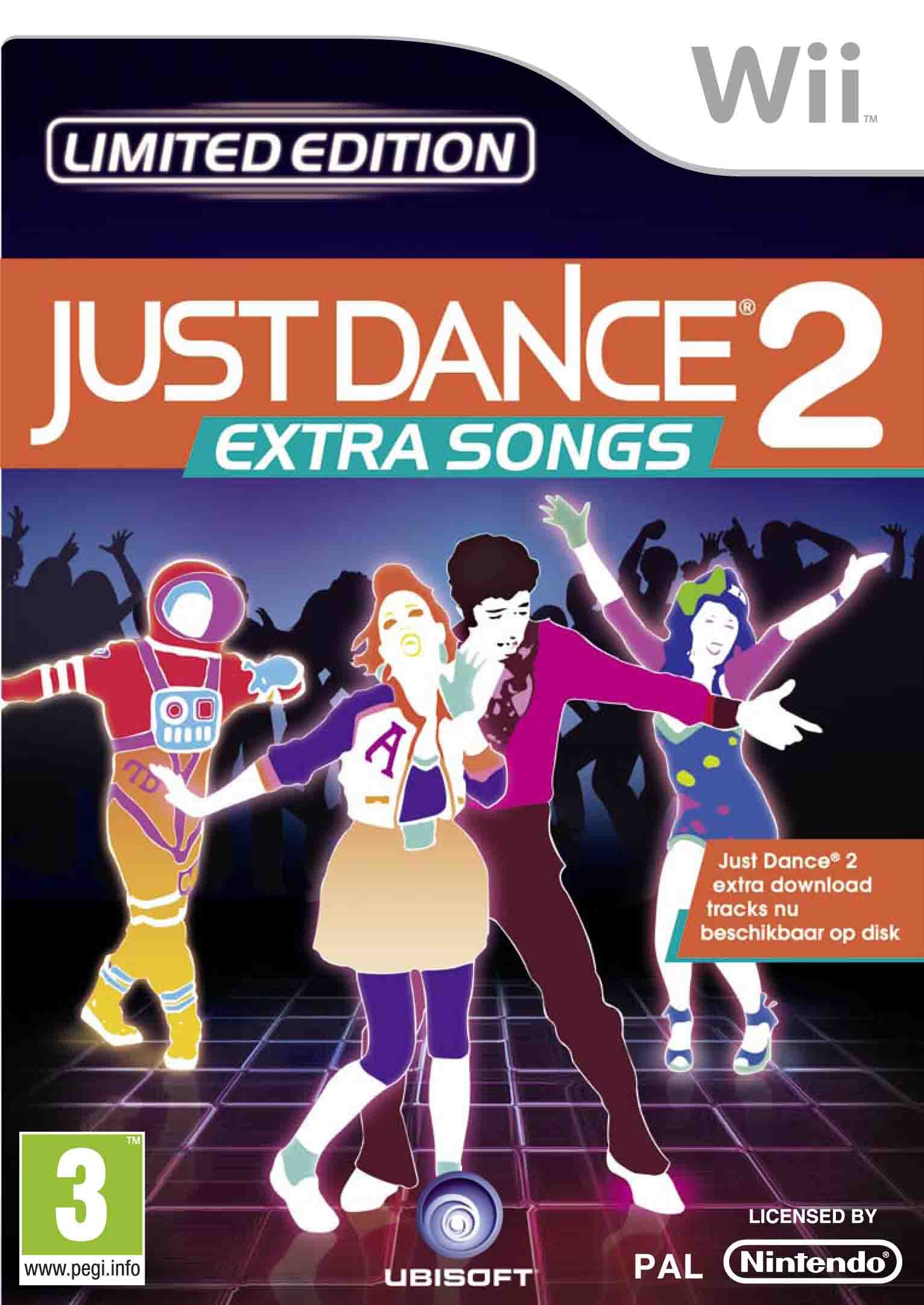 Boxshot Just Dance 2: Extra Songs