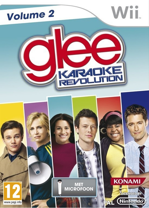 Boxshot Karaoke Revolution Glee: Volume 2