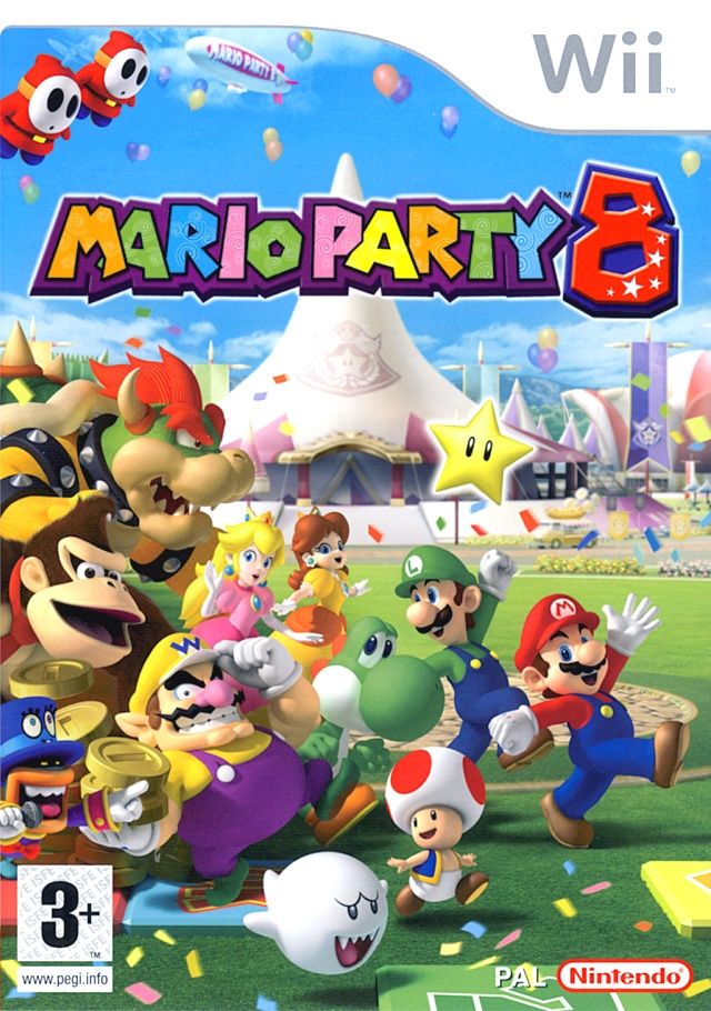 Boxshot Mario Party 8