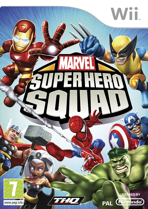 Boxshot Marvel Super Hero Squad