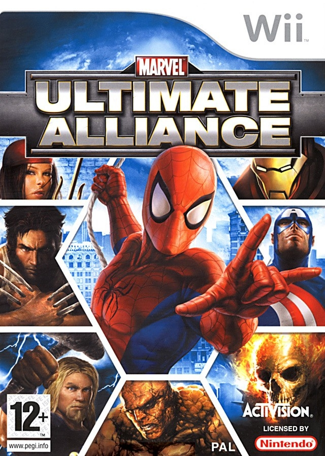 Boxshot Marvel: Ultimate Alliance
