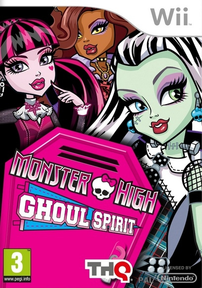 Boxshot Monster High: De Graf Geest