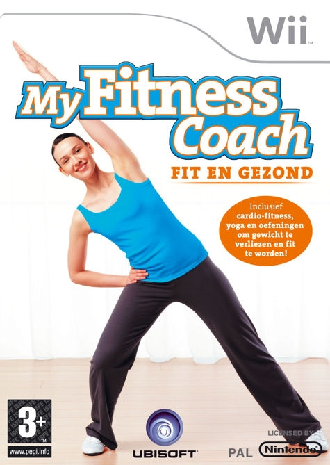 Boxshot My Fitness Coach: Fit en Gezond