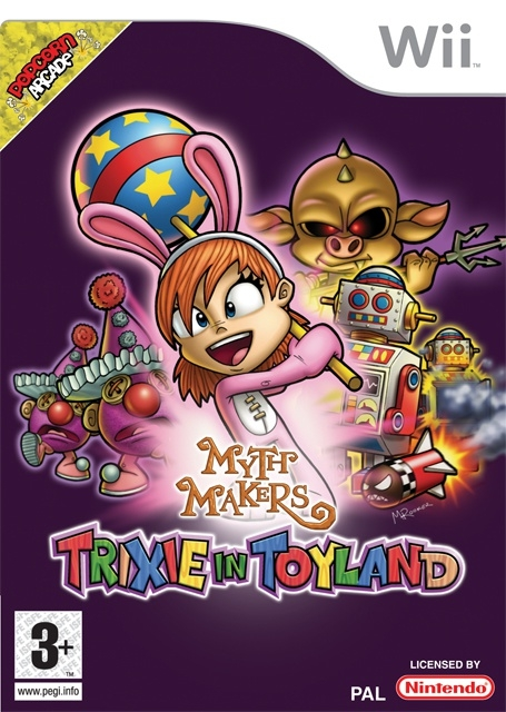 Boxshot Myth Makers: Trixie in Toyland