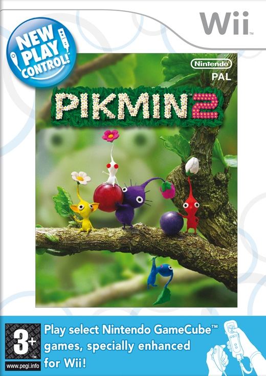 Boxshot New Play Control! Pikmin 2