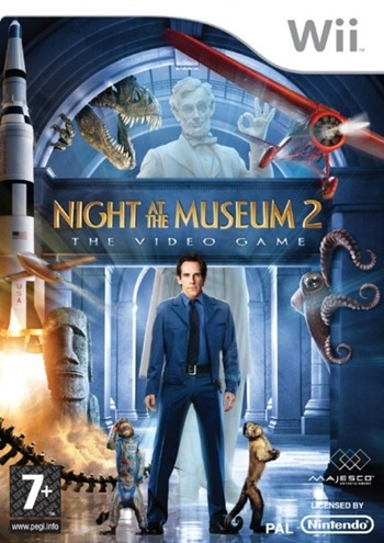 Boxshot Night at the Museum 2