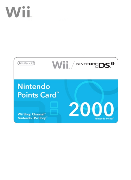 Boxshot Nintendo Points Card